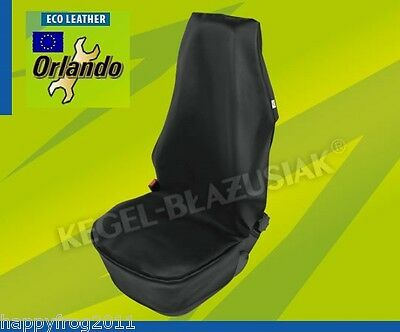 Protective Elegant Cover for Front Car Seat EcoLeather Air Bag Safe ORLANDO