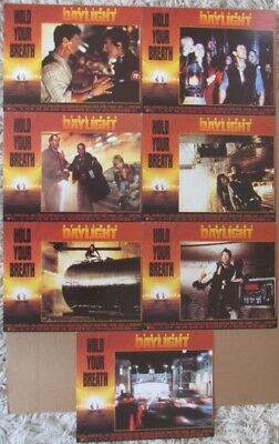 DAYLIGHT MOVIE POSTER LOBBY CARD SET OF 7 1996 ORIGINAL 11x14 SYLVESTER STALLONE