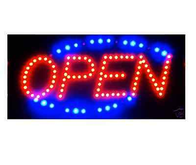 LED Strips Open Sign Board Color Neon Display Sign Animate Outdoor Neon Flashing