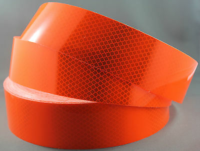 3M Fluro Orange (4084) Diamond Grade Class 1 Reflective Tape 50mm x 45.7m