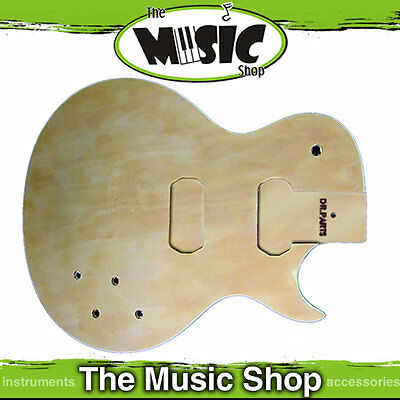 New DR Parts Les Paul Electric Guitar Body - Sanded & Sealed - ZB412SM