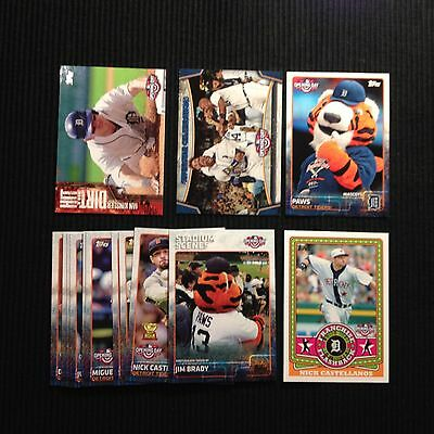 2015 TOPPS OPENING DAY DETROIT TIGERS TEAM SET 15 CARDS  WITH INSERTS
