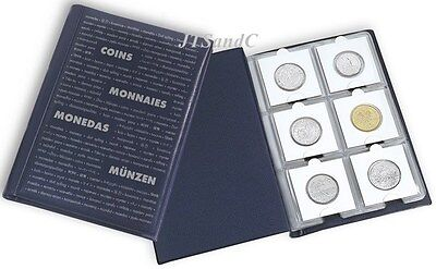 NEW NUMIS COIN ALBUM, will hold 60 Coins in 2x2 holders