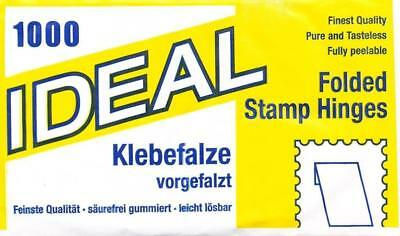 Pack Of 1000 Ideal Stamp Hinges **free Postage**