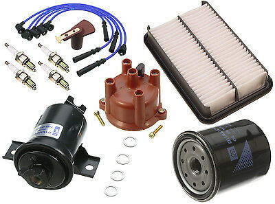 NEW Toyota Pickup 1985 2.4 L4 Ignition Tune Up Kit Cap and Rotor + Filters