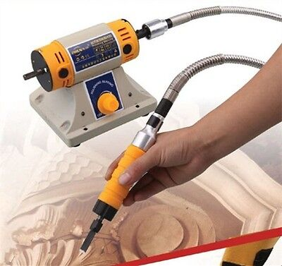 Wholesale - New 220v electric chisel carving tools wood chisel carving machine