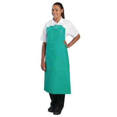 Whites Chefs Apparel Heavy Duty Waterproof Bib Apron Chef Kitchen Catering