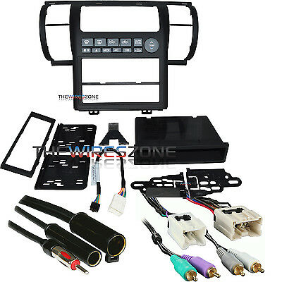 Metra 99-7604B Black Single/Double DIN Combo Dash Kit for 2003-2004 Infiniti G35