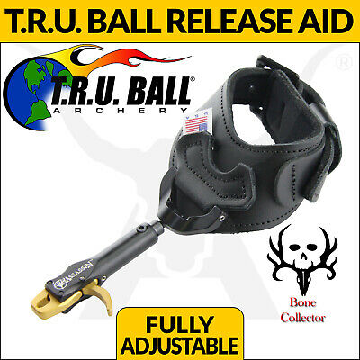 New Tru Ball Assassin Buckle Release Aid- Black Head For Archery Bow Hunting
