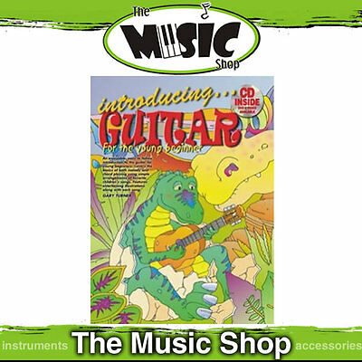 Progressive Introducing Guitar for the Young Beginner Kids Music Book & CD Pack