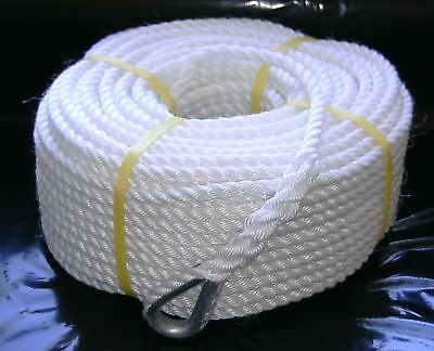 12mm x 100Mtr Silver Anchor Rope