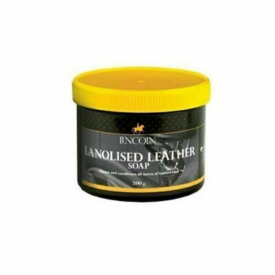 Lincoln Lanolised Leather Saddle Soap - Tack Cleaning