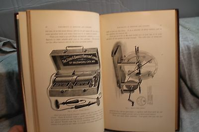 RARE Antique old THE PRACTICAL APPLICATION OF ELECTRICITY IN MEDICINE & SURGERY