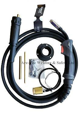 Mig Welding 4M Torch MB15 Euro Conversion Kit WITH GAS SOLENOID