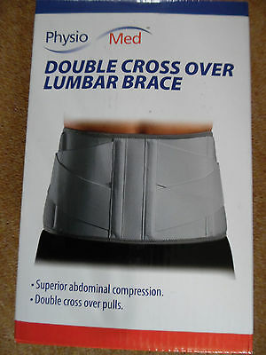 Adjustable Double Pull Lumbar Support Lower Back Belt Brace Pain Relief