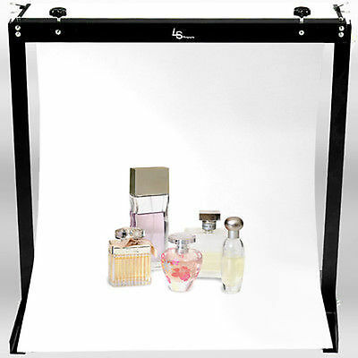 Studio Shooting Table Stand Small Products Digital Photo Light w/ Background Kit