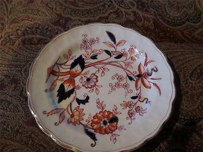 "Booths Fresian Bread and Butter Plate 6 1/8"" Used"