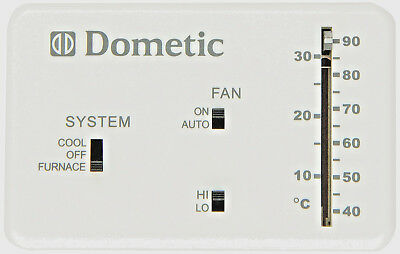 New Dometic Duo Therm Heat Cool Furnace Thermostat Analog 3106995.032