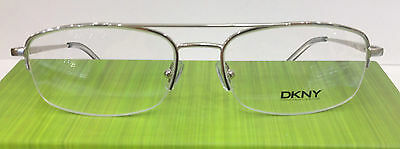 a57bbc9111 DKNY DY 5572 1002 Silver Metal Eyeglasses Frame Size 54-17-145 New Authentic