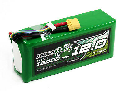 RC MultiStar High Capacity 6S 12000mAh Multi-Rotor Lipo Pack