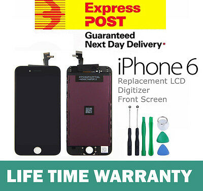 for iPhone 6 Black LCD Touch Screen Replacement Digitizer Display Assembly New
