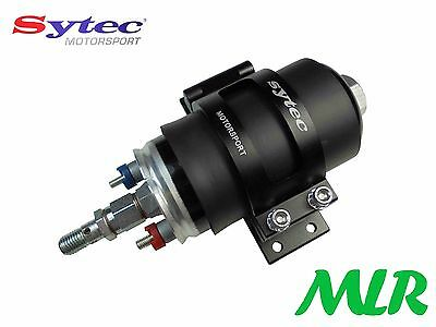 Sytec Motorsport Bosch Fuel Pump Filter Mounting Bracket Black Mlr.fxbl