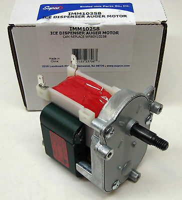 IMM10258 for WR60X10258 GE Refrigerator Icemaker Auger Motor PS1993875 AP4337288