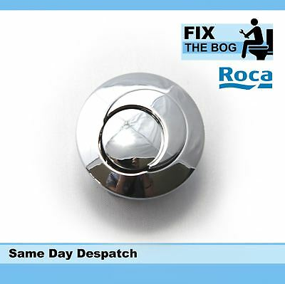 Roca Dual Flush Button Short D2D New Style Half Moon push button only Short