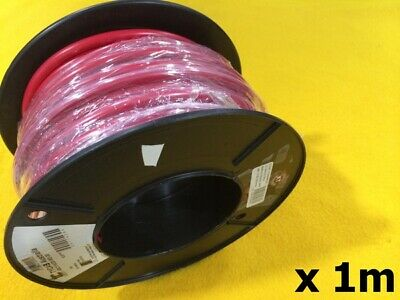1 M x 125 Amp BATTERY STARTER Cable 6 B&S RED 13 mm2 Car electrical auto wire