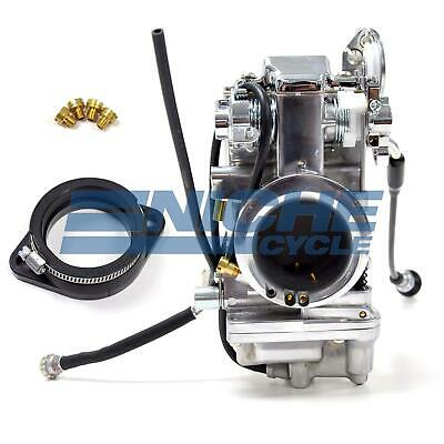 Mikuni HSR48 Pump Type Performance Polished Pumper Carburetor Carb Kit HSR48-2P