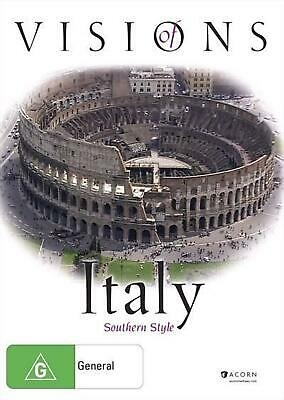 Visions Of Italy - Southern Style - DVD Region ALL Free Shipping!