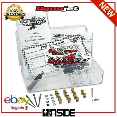 Kit Carburazione Stage 2 Dynojet Per Ducati Monster 600 (Monodisco) 98-01 E7204