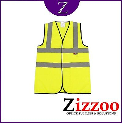 High Visibility Vest  - Great For Bikers / Runners / Walkers / Etc + Free P&p!