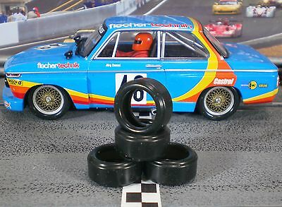 1/32 URETHANE SLOT CAR TIRES 2pr PGT-19094LMXD fits Carrera BMW 2002