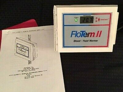 NEW DATACHEM FloTem II Blood/Fluid Warmer w/Instructions See Description