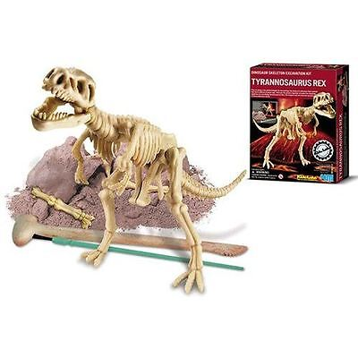 TYRANNOSAURUS T-REX SKELETON EXCAVATION EDUCATIONAL KIT KIDZ LABS 4M -SEALED NIB