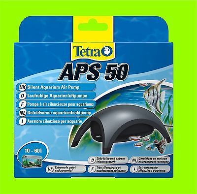 Tetra APS 50 Pompe à air Aquarium très calme Pompe a air pour 10-60l Aquarium