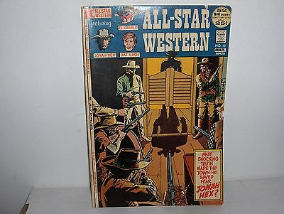 All Star Western Comics 10 OW/W Pages DC 1971 1st app. Jonah Hex