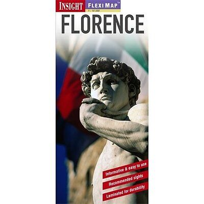 Insight Flexi Map: Florence Guides Sheet 9781780054100