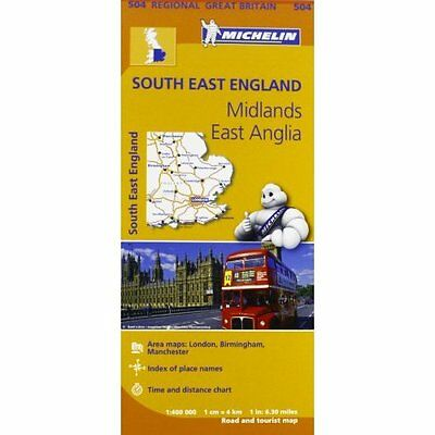 South East England Midlands Anglia Michelin Editions des Voyages . 9782067183346