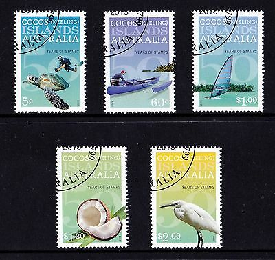 Cocos Islands 2013 50 Years of Stamps Set of 5 CTO