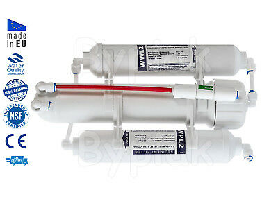 3 Stage RO Reverse Osmosis Filter for Tropical and Marine Fish  50 GPD