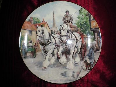 Royal Doulton 'The Noble Shires' Thirsty Work plate