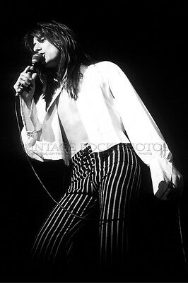 Steve Perry Journey Photo 8x12 or 8x10 inch 1970's Live Concert From Negative 50