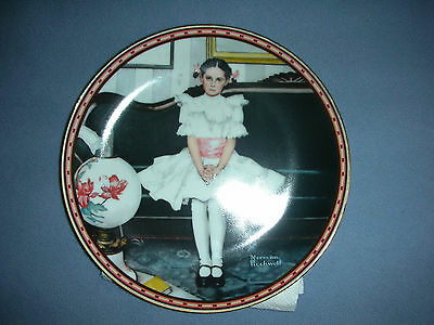 Norman Rockwell Plates - Rockwell's Rediscovered Women