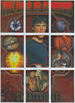 Smallville Season 2: Complete The Day is Coming Subset (9) Superman