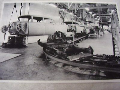 1957 Chevrolet Assembly Line  #3  12 X 18  Large Picture  Photo