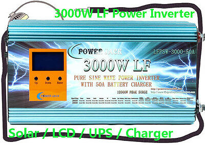 4 IN 1 3000W,5000W,6000W,8000W LF Pure Sine Wave Power Inverter 12V,24V,48V DC