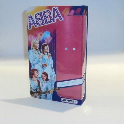 Matchbox Abba Doll Frida Reproduction Box