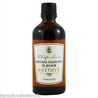 Natural Hazelnut Flavour Extract 100ml
